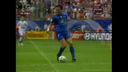 Италия - Чехия 2:0