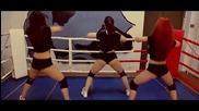 Twerk На Боксов ринг от много сексапилни мацки
