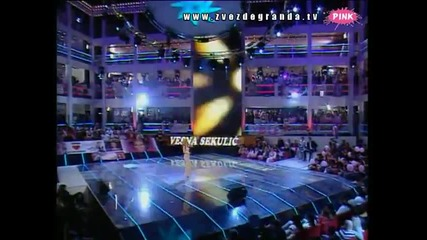 Vesna Sekulić - Otkopčano jeleče (Zvezde Granda 2010_2011 - Emisija 14 - 08.01.2011)