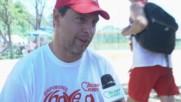 Евгени Иванов Взе Участие в Турнира по Волейбол