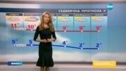 Прогноза за времето (20.11.2016 - обедна емисия)