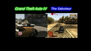 The Saboteur vs. Grand Theft Auto Iv