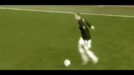 Wayne Rooney and Dimitar Berbatov