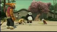 Кунг фу панда - Легенди за страхотният боец - Бг Аудио -цял епизод 13.11.2014 г.