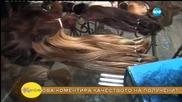 """""""На кафе"""" поставя финал на кампанията за даряване на коса за нуждаещи се жени (09.07.2015)"""