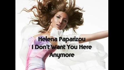 Helena Paparizou - I Don't Want You Here Anymore - Youtube