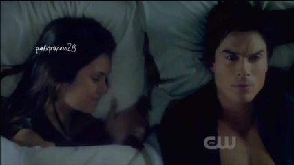 Delena: Never let me go