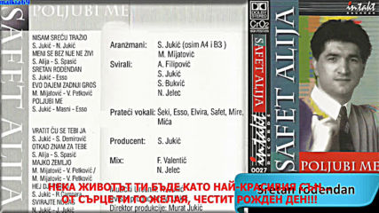 Safet Alija - Sretan rodjendan (hq) (bg sub)