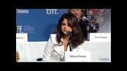 """Селена Гомез! Интервю относно филма """"хотел Трансилвания"""""""