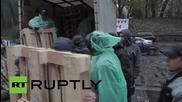 Ukraine: Radical Party set up 'Tariff Maidan' camp to demand lower utilty costs