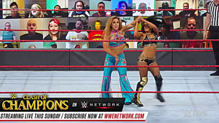 Mickie James vs. Zelina Vega – Winner faces Asuka at Clash of Champions: Raw, Sept. 21, 2020