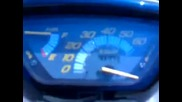 Honda Dio ускорение