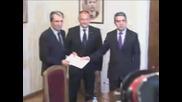 Президентът връчи мандат за съставяне на правителство на Коалиция за България