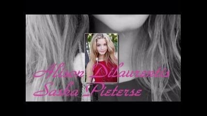 Sasha Pieterse a.k.a Alison Dilaurentis