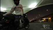 Фрийстайл трикове със скутер