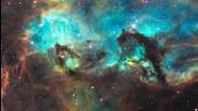 Снимките на телескопа Хъбъл Hd (720p)