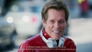 Kevin Bacon and Britney Spears in Ee Apple Music promotion Uk Tv Advert