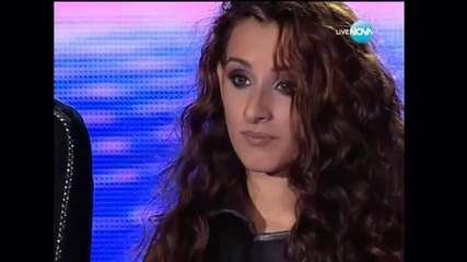 X Factor Bulgaria 03.10.2013 - Theodora Tsoncheva - Mamma Knows Best
