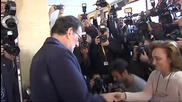 Spain: PM Mariano Rajoy casts his ballot in Spanish general elections