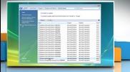 Windows® Vista: Uninstall Internet Explorer® 8