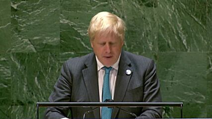 UN: 'It's time for humanity to grow up' - Johnson on climate change