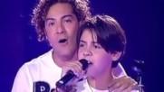 David Bisbal Aqui Estoy Yo (con un nino) La Voz Kids 2014