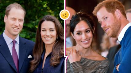 Съсекс VS Кеймбридж: Популярността на Хари и Меган спада, а Уилям и Кейт са обожавани