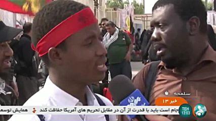 Iran: Thousands of pilgrims trek to Karbala for Arbaeen