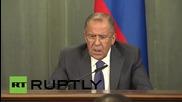 Russia: Lavrov questions Washington's motives for pursuing MH17 tribunal