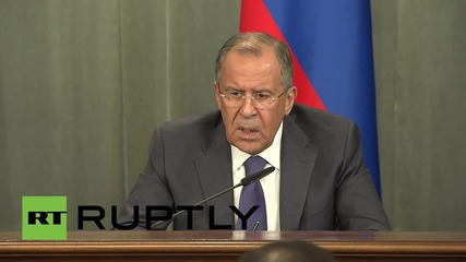 Russia: Lavrov questions Washington's motives for pursuing MH17 tribunal