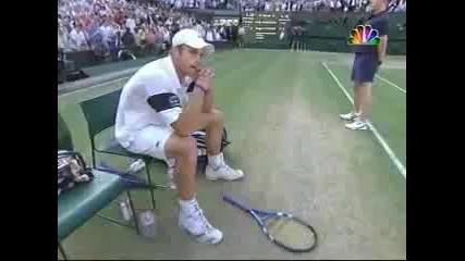 Roger Federer Vs Roddick Wimbledon 2009