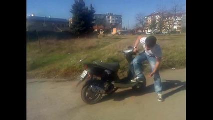 Така се прави със старата гума