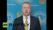 "Russia: ""Deeply disappointed"" with EU's ""Russophobic"" sanction extension - FM spokesman"