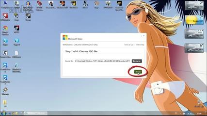 Как да: Запишем Windows 7 за инсталиране от Usb флашка