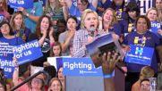 USA: Clinton predicts a 'contentious campaign' against Donald Trump