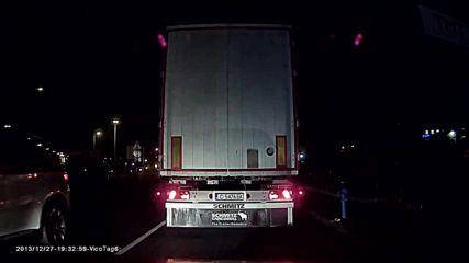Малоумно изпреварване на червен светофар