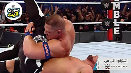 أقوى لحظات حقق فيها سينا البطولة – WWE سبوت لايت