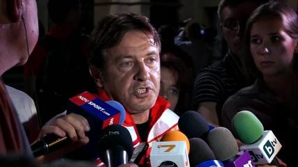 Диян Петков: Не съм щастлив, не това трябва да е Локомотив