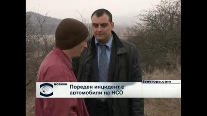 Лек автомобил е бил ударен от кола от кортежа на премиера Борисов, пострадали няма