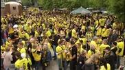Феновете вече загряват за финала на Купата на Германия