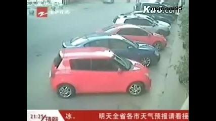 Ето какво става, когато китайците си изпуснат нервите! Смях!!!