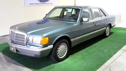 sold_ 1987 mercedes benz 560sel