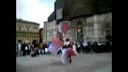 Празник В Центъра На Болония