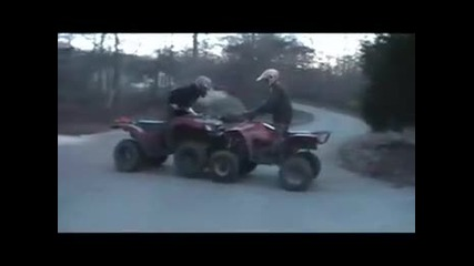 Brute Force 650 Vs. Polaris 500