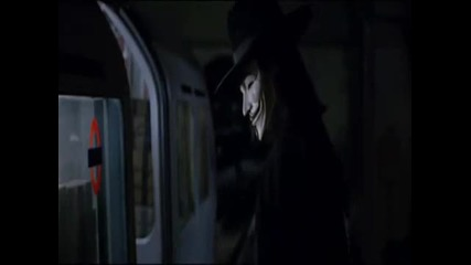 V for vendetta music video