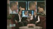 Chris Brown on Ellen DeGeneres Show /Chris разказва за връзката си с Rihanna/