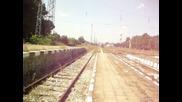 06 097.0 с влака Пловдив - Пещера и обратно пристига на гара Стамболийски