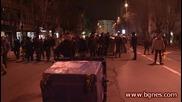 Арестуваха Кристиян Коев – Златната флейта на протеста в София