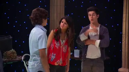 'wizards Of Waverly Place' Series Finale -- Selena Gomez, Jake T. Austin, David Henrie