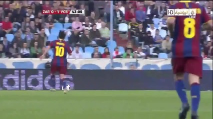 Zaragoza 0 - 2 Barcelona